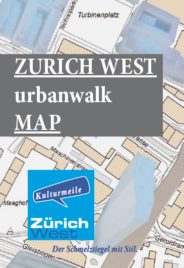 Urban Walk Map Foto